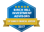 Birch Hill, Boston MA Top Ranked Financial Advisor